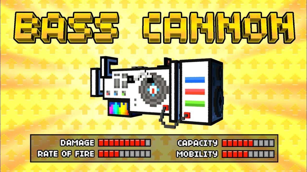 Image result for pixel gun bass cannon