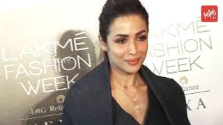 Malaika Arora | At Auditions With Models For The LFW Winter Festival Mumbai 2018 | YOYO TV Hindi