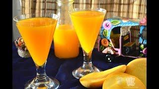 ম্যাঙ্গো জুস ।। ঘরের তৈরি ফ্রুটিকা ।। ফ্রুটো ।। Home Made Mango juice ।। Frutika ।। Frooti । juice