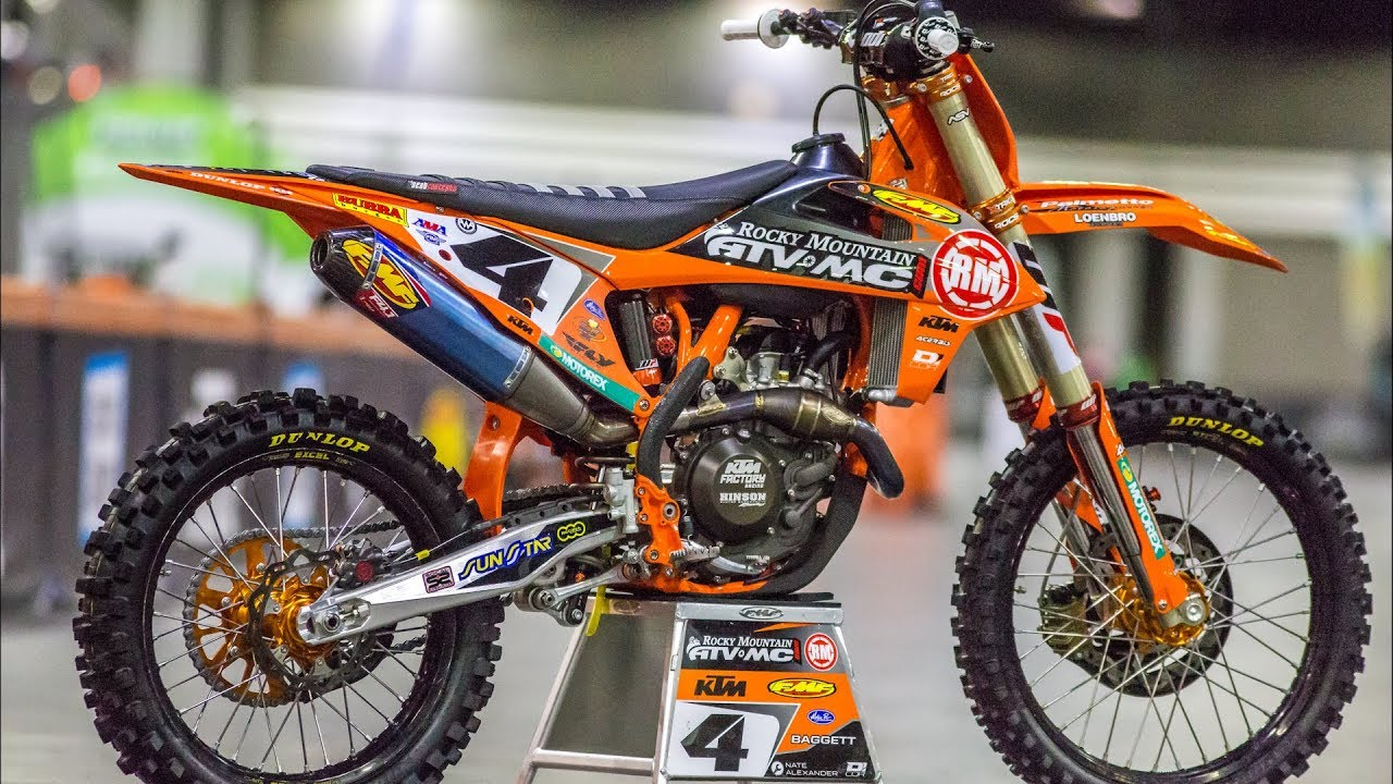Inside Blake Bagget's Factory Rocky Mountain/WPS/ KTM 450SXF - Motocross  Action Magazine