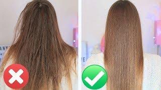 видео Гладкие волосы в домашних условиях