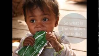 Famine Kills Millions in India - A Revolutionary New Food Product (RUTF)