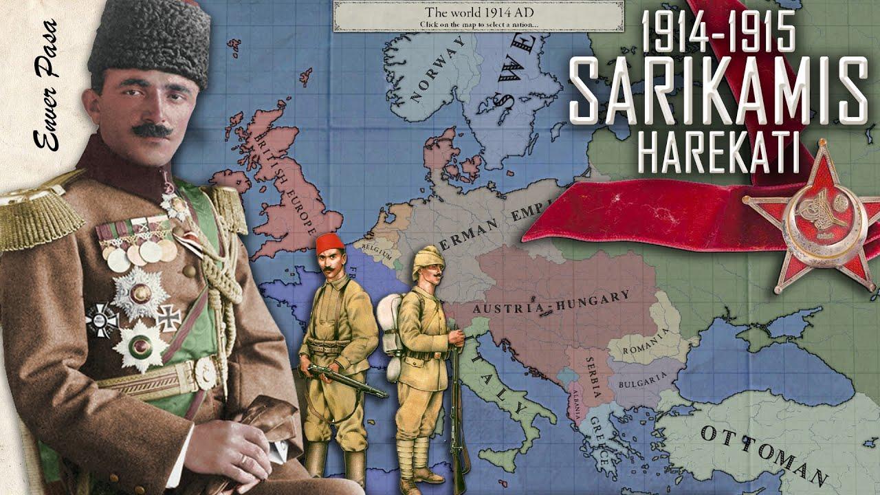 Sarıkamış Harekatı 1914-1915 || DFT Tarih BELGESEL