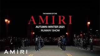 The Making of the AMIRI Autumn-Winter 2021 Runway Film