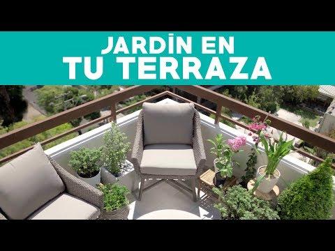 ¿Cómo planificar un jardín en departamento?