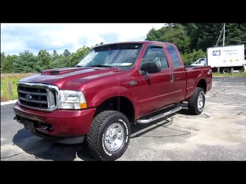 2004 Ford F250 XLT Super Duty Start Up, Exhaust, Engine & In Depth Tour