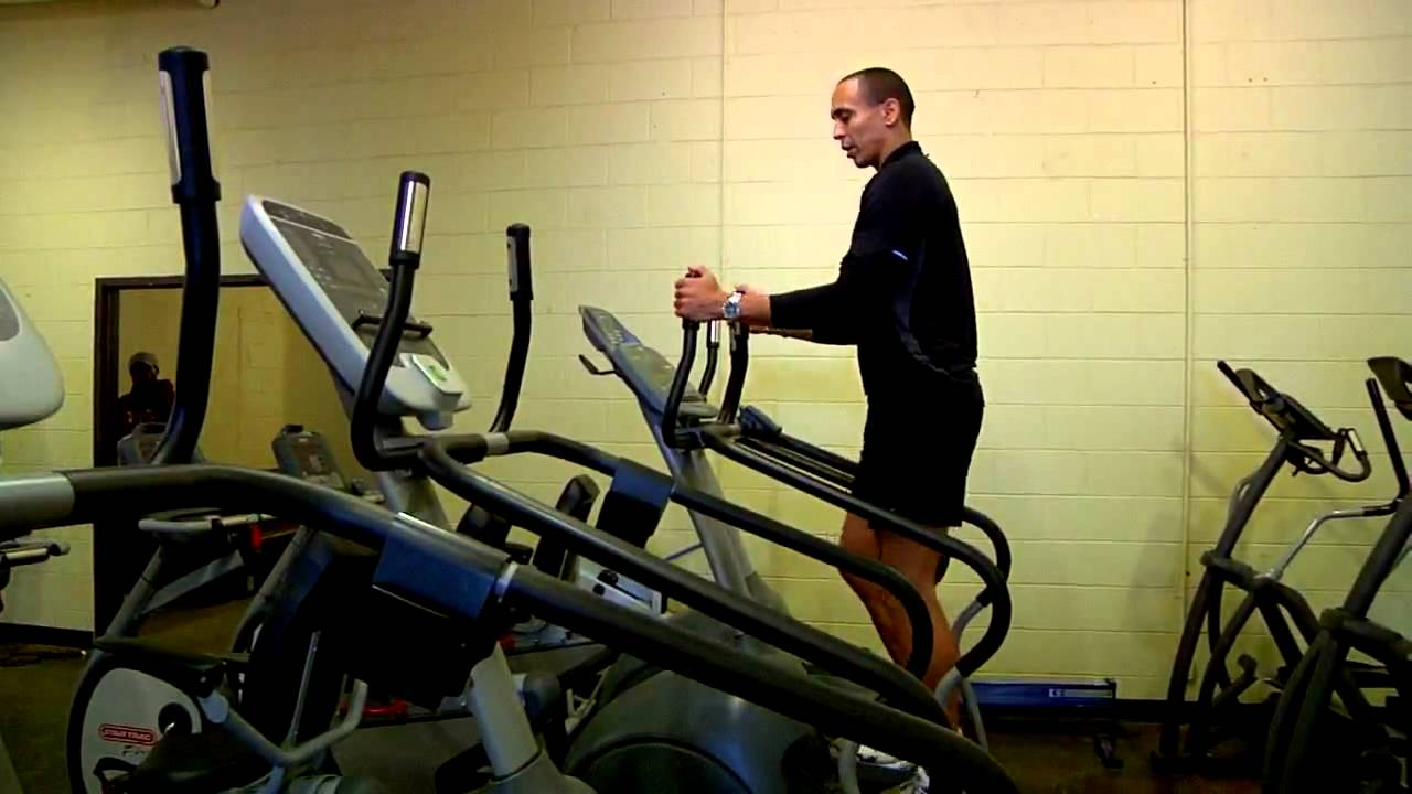 Exercise Machines How to Use a Stair Stepper Properly - YouTube