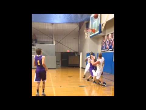 Bryan Johnson Bens Ford Christian School Basketball Highlights 2015