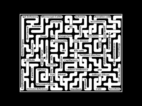 """Chronic diarrhea: """"How to find your way in the Maze""""."""