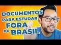 7 Documentos Essenciais para você ESTUDAR FORA do Brasil! l Matheus Tomoto