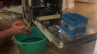 видео Не сливает воду посудомоечная машина Bosch