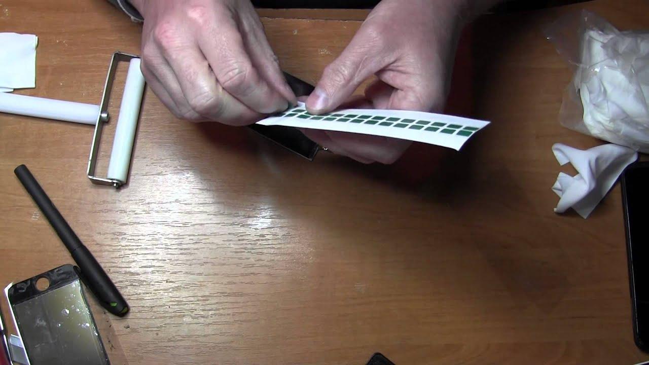 Sony xperia v lt25i замена сенсора (oca пленка) - YouTube