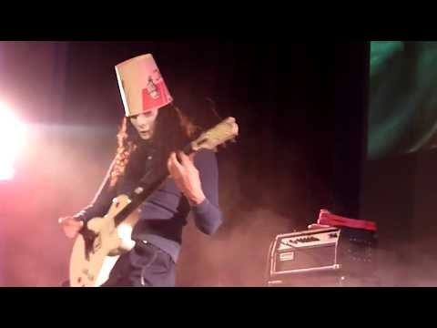 Buckethead 1/28/2012 Fox Theatre - Visalia, CA WHOLE SHOW HD FRONT ROW