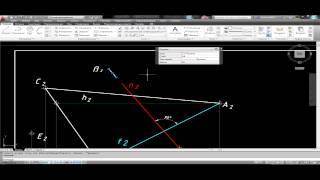 [Начертательная геометрия] Точки, прямые, плоскости НГ 1 (часть 2)