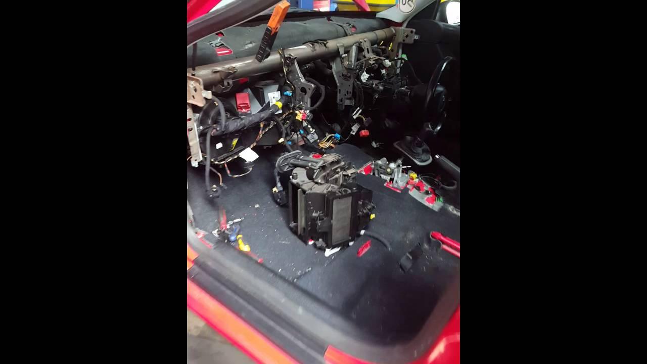 Seat Leon Heater Matrix Change Leaking Steam From Dash