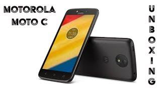 Motorola Moto C | El nuevo gama de entrada | Unboxing