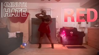 [RED] ♦️ 4MINUTE (포미닛) - Hate (싫어) Alyssa's Dance Cover