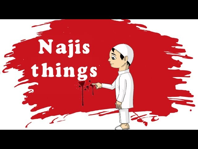 What are the Najis things - Taharah - L3