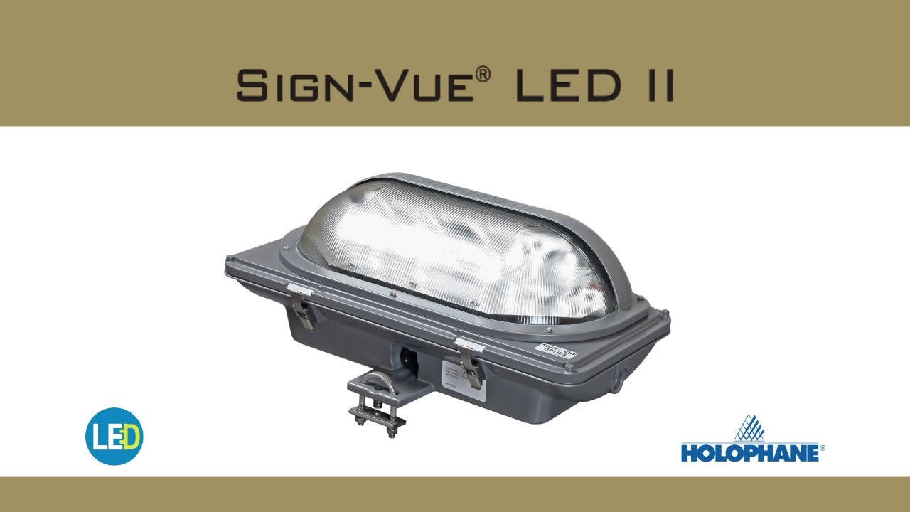 Signvue Led Billboard Light Fixture Reliable Electric
