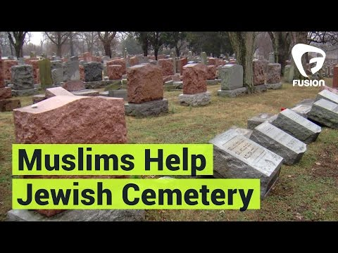 Muslims Raise Funds for Vandalized Jewish Cemetery