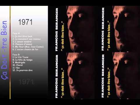 Ça Doit  tre Bien :  Francois Beranger 1971 || Ça Doit  tre Bien