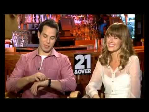 21 and over (2013)Team interview