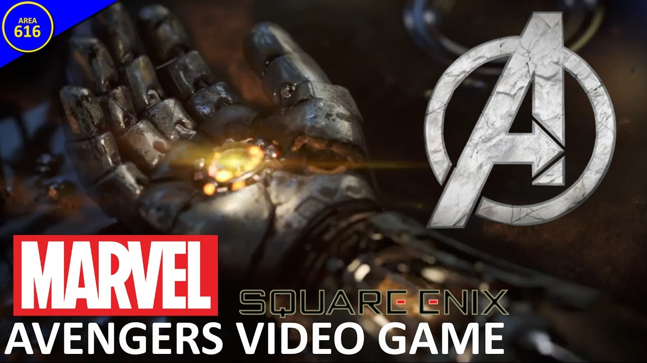 new avengers video game revealed