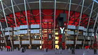 Ras Abu Aboud Stadium in 2022  استاد راس أبو عبود في ٢٠٢٢