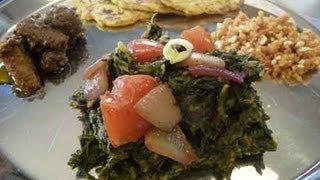 Sarson Ka Saag - Punjabi Mustard Greens Indian Recipe