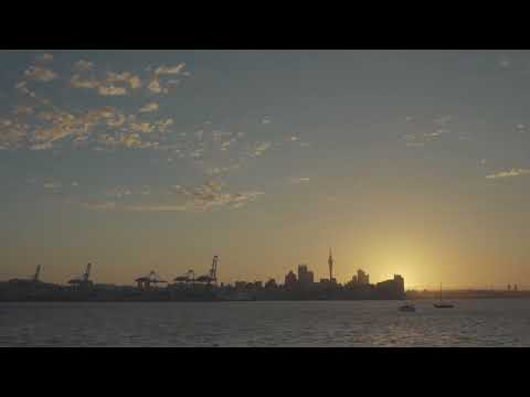 Summer sunset time-lapse - Auckland, New Zealand