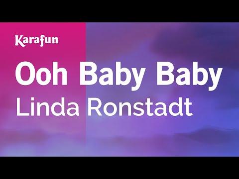 Karaoke Ooh Baby Baby - Linda Ronstadt *