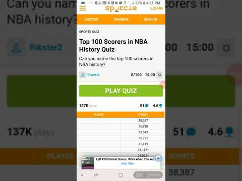 can i name the top 100 scorers in nba history youtube