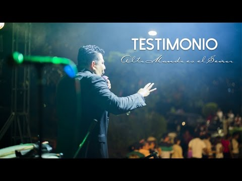 Testimonio de conversión de Alto Mando es el Señor