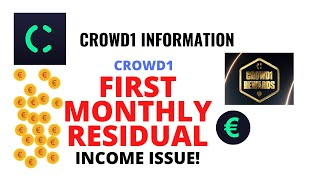 crowd1 residual income - crowd1 rewards & residual income update