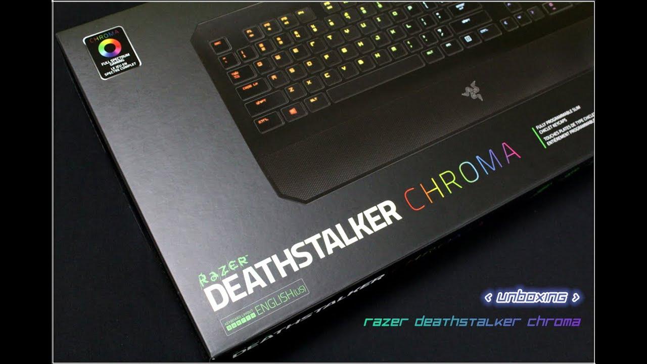 [ UNBOXING + LIGHTING FEATURE ] - RAZER DEATHSTALKER ... Deathstalker 2