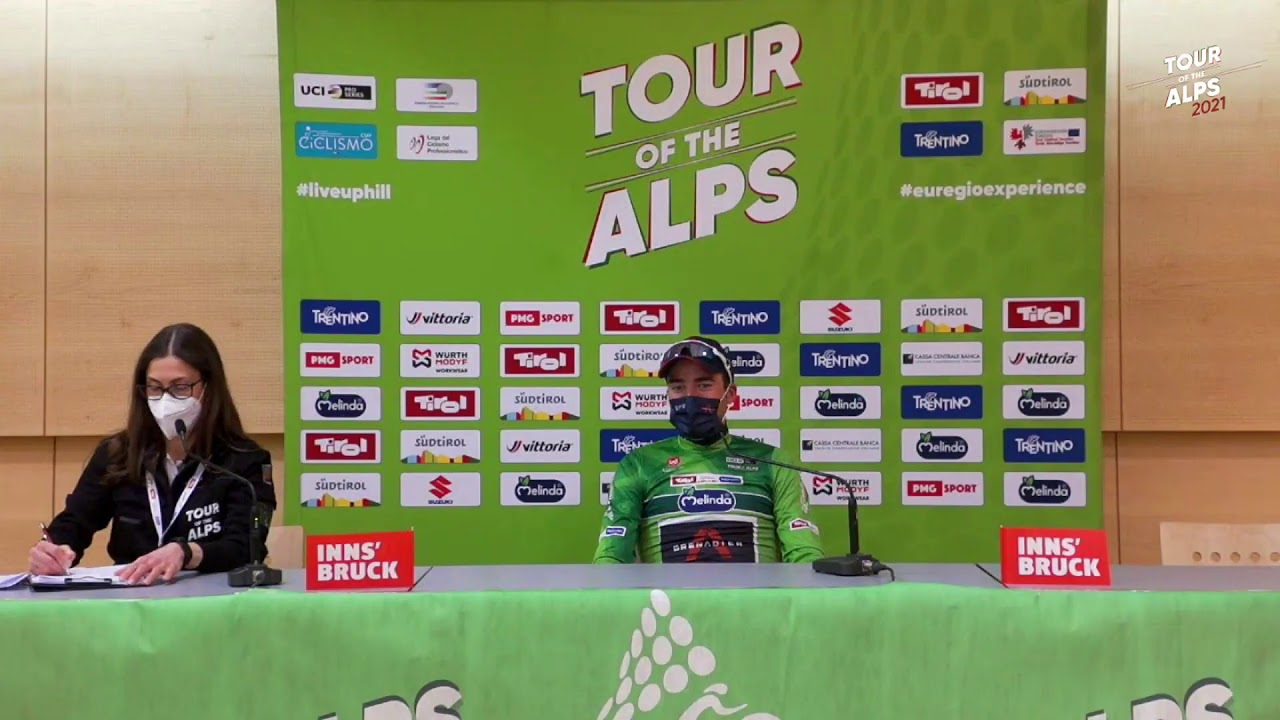 Tour of the Alps 2021 Stage 1 - Press Conference