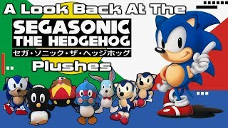 A Look Back At The 1991 SEGASonic The Hedgehog Plushes!
