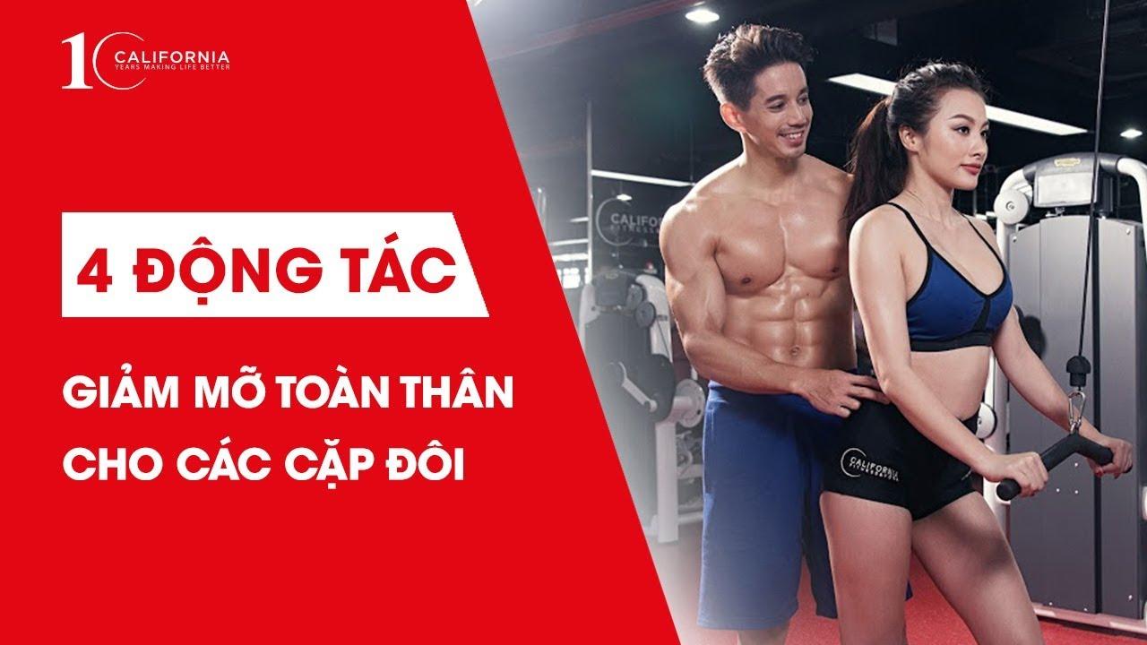 Workout #29   4 động tác giảm mỡ toàn thân cho cặp đôi   CFYC