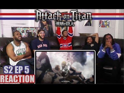 HISTORIA: ATTACK ON TITAN 2X5 REACTION/REVIEW (SEASON 2 EP 5)