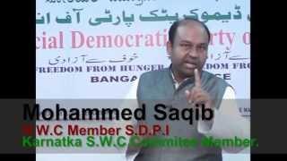 SDPI - Karnataka 2013 Assembly Election Appeal.