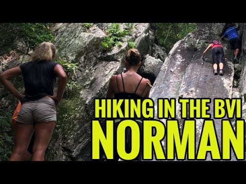 Hiking in the BVI: Norman Island Trails Drone Video