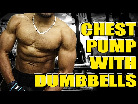 *Must Try* Insane Chest Pump Workout With Dumbbells - Dumbbell Chest Workout