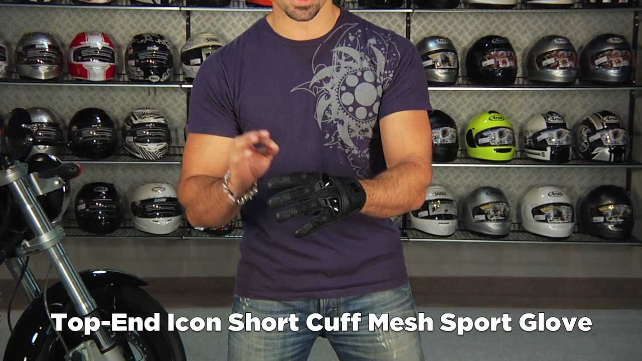 Icon justice leather motorcycle gloves - Icon Justice Mesh Gloves Review At Revzilla Com