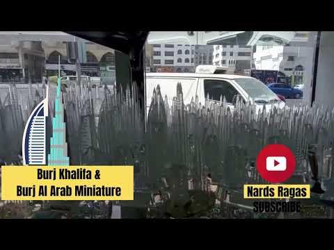 Burj Khalifa & Burj Dubai Miniature