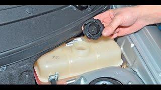 видео Замена охлаждающей жидкости на приоре
