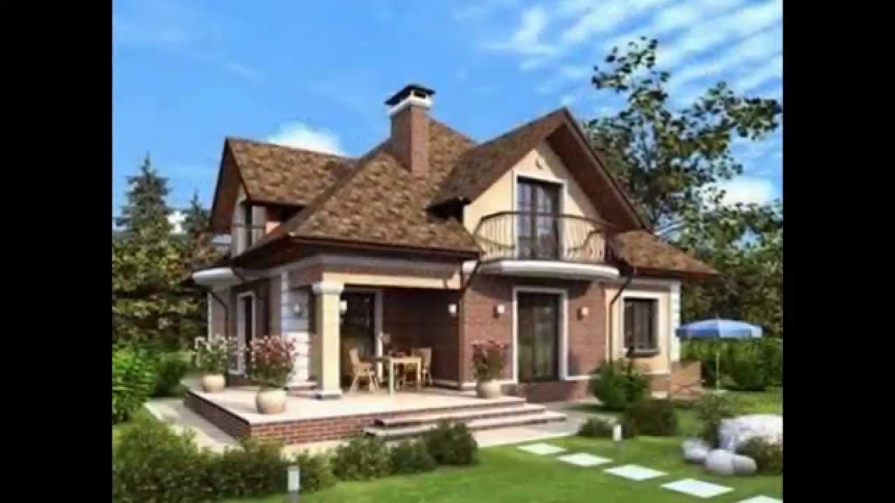 Красивые дизайны двухэтажных домов