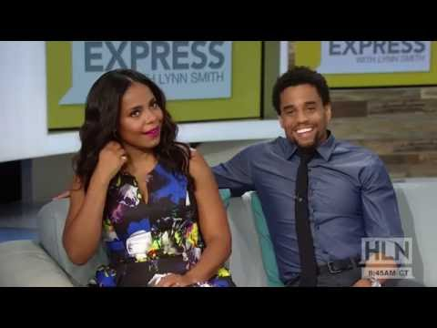 Sanaa Lathan & Michael Ealy on The Perfect Guy Weekend Express HLN