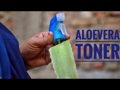 aloe vera skin toner recipe home made for summer, | घर पे बनाइये अलोवेरा स्किन टोनर