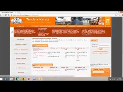 e- Procurement :: Bidder registration