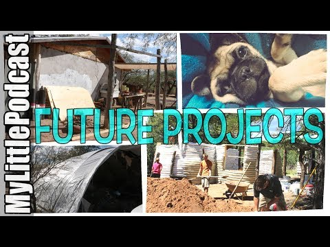 Future Projects Earthbag Kitchen Addition/Greenhouse/Shop/Cabin |  Livestream  |  My Little Podcast